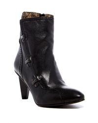 Fly London Black Abi Pointed Toe Bootie