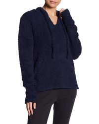 Barefoot Dreams - Blue Plush Pullover Hoodie - Lyst