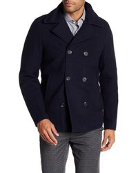 Scotch & Soda Blue Ams Blauw Peacoat for men