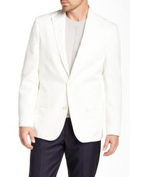 Vince Camuto | White Vanilla Two Button Notch Lapel Blazer for Men | Lyst