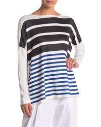 Go Couture - White Hi-lo Sweater - Lyst