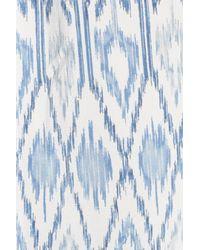 Joie - Blue Lorette Silk Blouse - Lyst