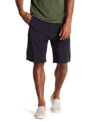 Vince Black Drawstring Pull-on Shorts for men