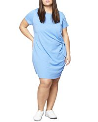 Sanctuary Blue Wrapsody Dress (plus Size)