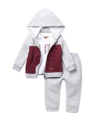 7 For All Mankind Multicolor Hoodie, Tee, & Pants Set (baby Boys) for men