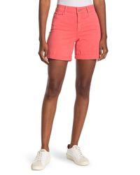 NYDJ Multicolor Avery Colored Roll Cuff Denim Shorts