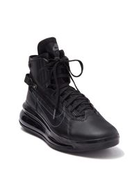 Nike Black Air Max 720 Saturn Sneaker for men