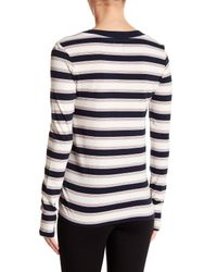 Stateside - Multicolor Striped Long Sleeve Tee - Lyst