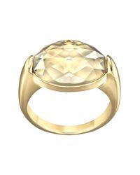 Swarovski   Metallic Vanilla Ring - Size 8   Lyst