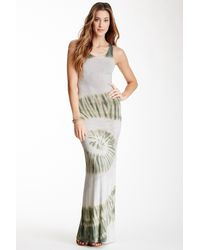 Go Couture - Multicolor Tie-dye Maxi Dress - Lyst