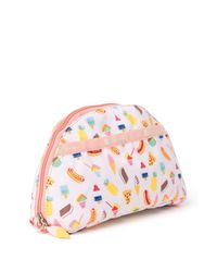 LeSportsac Multicolor Patterned Dome Cosmetic Bag