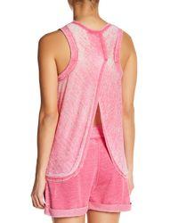 Honeydew Intimates - Pink Tulip Back Jersey Tank - Lyst