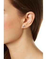 Rebecca Minkoff - Metallic Star Mismatched Earrings - Lyst