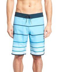 Billabong Blue 73 X Stripe Board Shorts for men