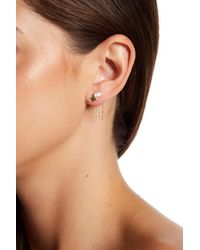 Nadri - Metallic Fizzy Drop Back Earrings - Lyst