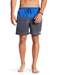 TRUNKS SURF AND SWIM CO - Blue San O Colorblock Swim Trunk for Men - Lyst