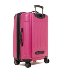 """Kenneth Cole - Pink Renegade 24"""" Expandable 8 Wheel Upright Suitcase - Lyst"""