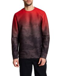 PUMA | Red Trapstar Crew Sweater for Men | Lyst