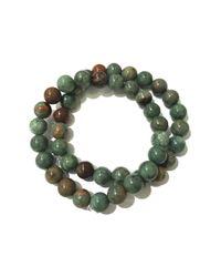 Charlene K - Green Double Amazonite Bracelet - Lyst