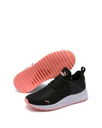 PUMA Black Pacer Next Cage Sock Sneaker