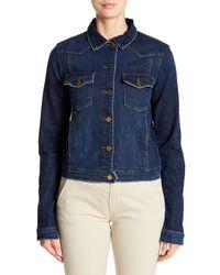 FRAME Blue Le Jacket