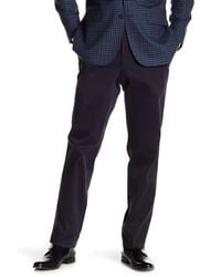 Ted Baker Blue Jerome Trim Fit Trousers for men