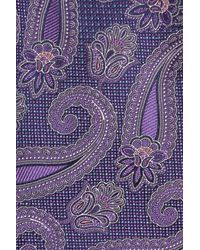 Nordstrom Purple Emery Paisley Silk Tie for men