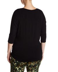 Electric Yoga - Black The Great Shirt (plus Size) - Lyst