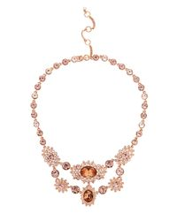 Givenchy - Metallic Crystal Collar Necklace - Lyst