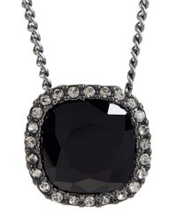 Givenchy - White Cushion Pendant Necklace - Lyst