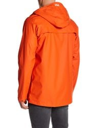 Helly Hansen - Orange Lerwick Rain Jacket for Men - Lyst