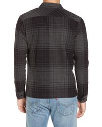 RVCA - Black Lamar Shirt Jacket for Men - Lyst