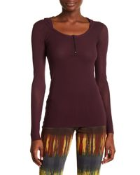 Petit Pois Purple Raisin Hooded Long Sleeve Shirt