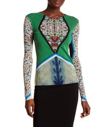 Petit Pois Multicolor Mercury Patterned Long Sleeve Shirt