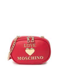 Love Moschino Red Borsa Rosso Crossbody