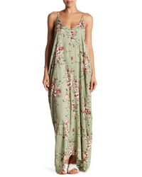 Love Stitch Multicolor Floral Printed Maxi Dress