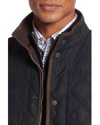 Peter Millar | Blue Hampton Waxed Jacket for Men | Lyst