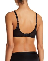 Spanx - Gray Underwire Pillow Lace Push-up Bra - Lyst