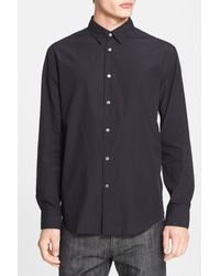 John Varvatos Black Extra Trim Fit Sport Shirt for men