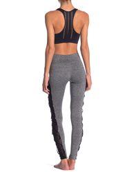 Electric Yoga Gray Latter Leggings
