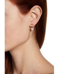 Judith Jack - Metallic Sterling Silver Swarovski Marcasite Embellished Floater Earrings - Lyst