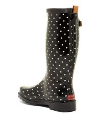 Chooka - Black Classic Dot Rain Boots - Lyst