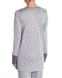 N Natori Gray Galaxy Shirt