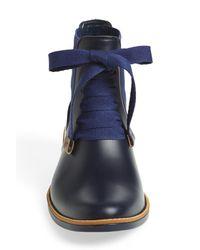 Bernardo - Blue 'Lacey' Short Waterproof Rain Boot - Lyst