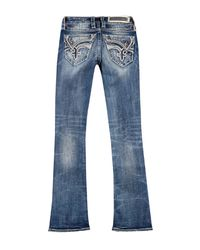 Rock Revival Blue Bootcut Jeans