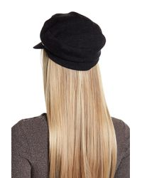 Helen Kaminski | Black Eni Baker Boy Hat | Lyst