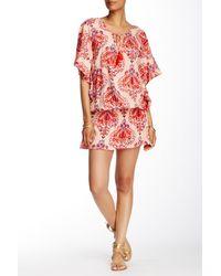 Tiare Hawaii - Red Jimbaran Short Dress - Lyst
