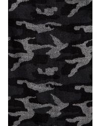 Shiraleah Black Zed Camo Print Wrap Scarf