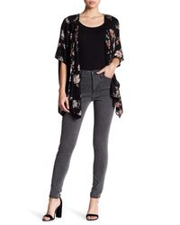 Jag Jeans - Black Gwen Stretch Skinny Highrise Pants - Lyst