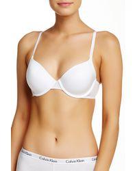 CALVIN KLEIN 205W39NYC - White T-shirt Bra - Lyst